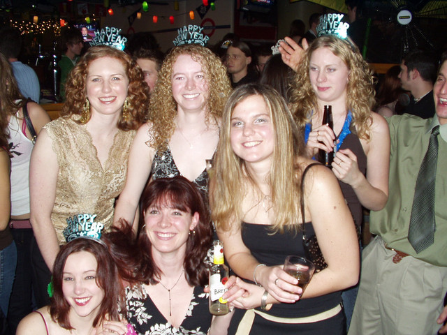 The girls on New Years